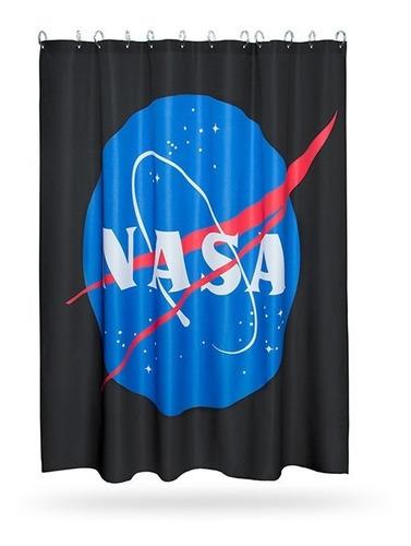 cortina de baño nasa espacio universo geek original hottopic