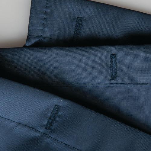 cortina de baño tela poliestér  183cm x 183cm impermeable lavable dobladillo reforzado