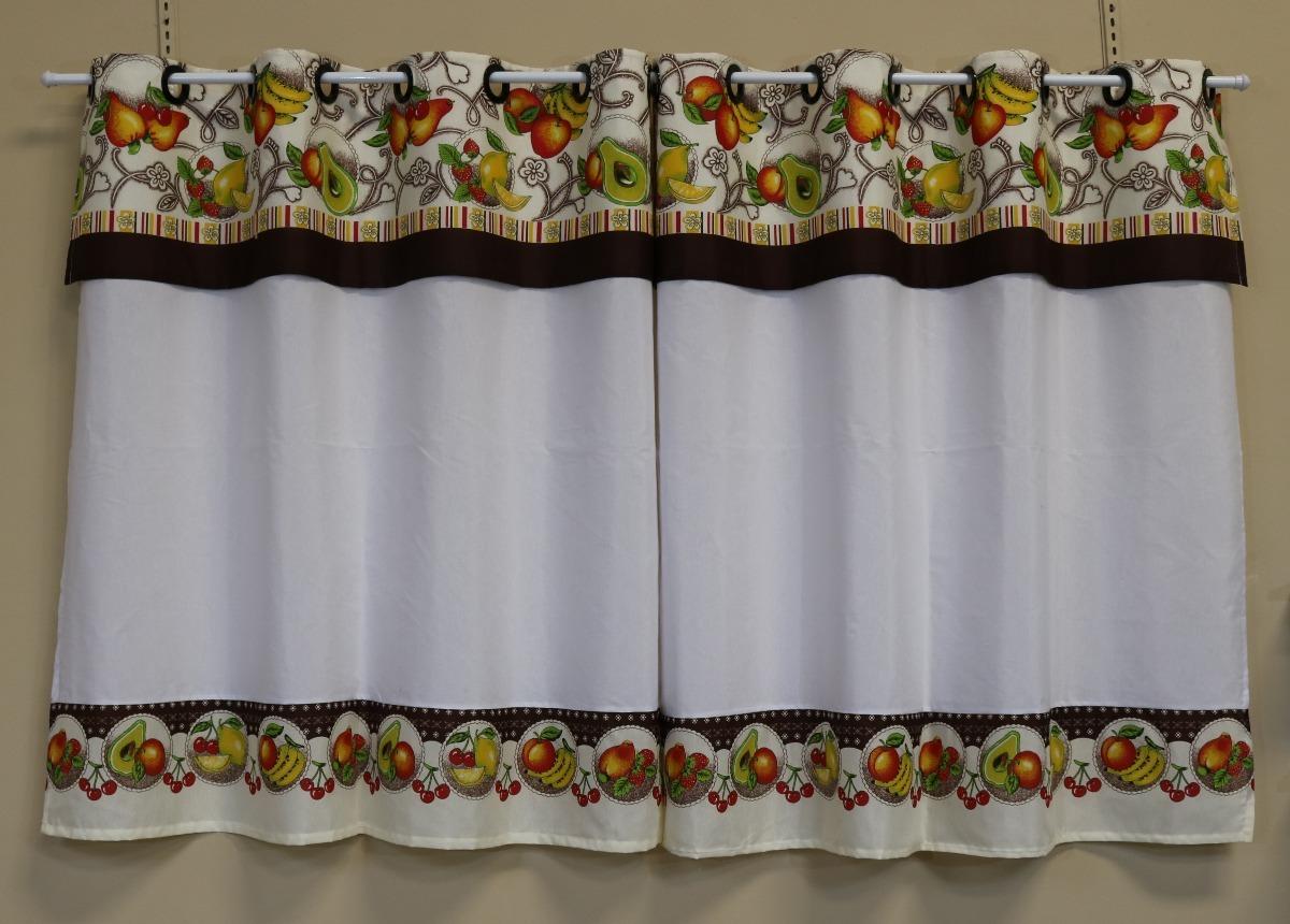 Cortina De Cozinha 2 00 X 1 20 Ilh S Pronta Entrega R 42 99 Em