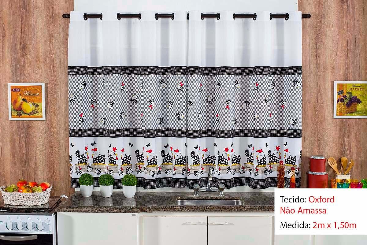 Cortina De Cozinha Toalha 4 Cadeiras Frete Gr Tis R 96 00 Em