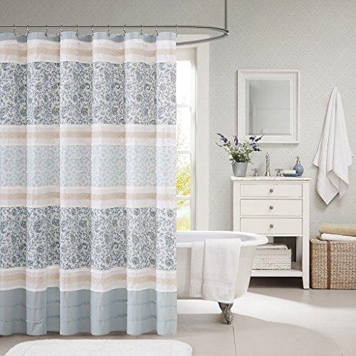 cortina de ducha madison park mp70-2493 dawn cotton 72x72