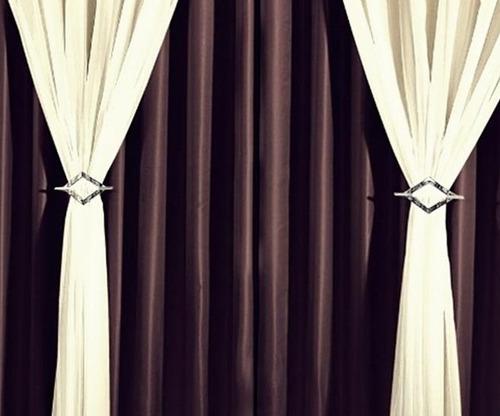 cortina de igreja salão festa 7 metros forro e voil clássica