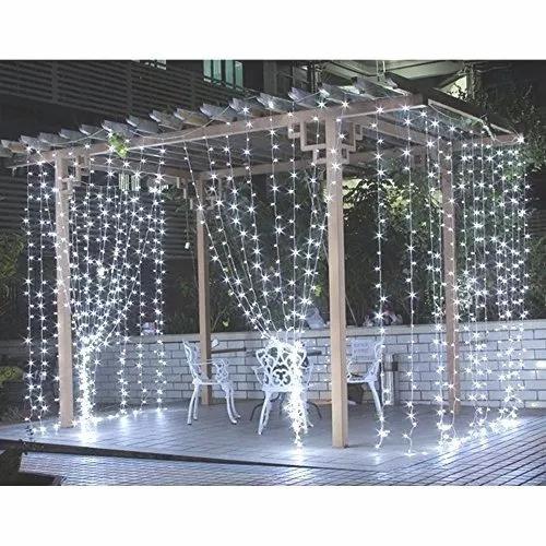 cortina de led vintage 3x3 bodas navidad decoracion fiestas