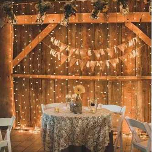 cortina de led vintage 3x3mts decoracion,  fiestas, navidad