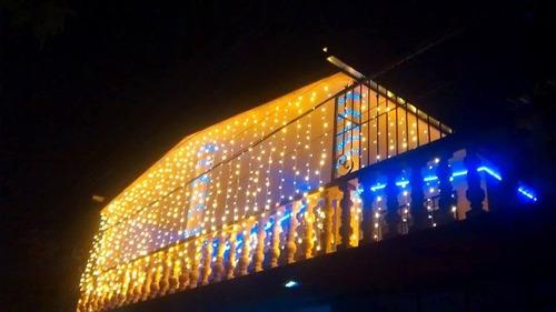 cortina de led vintage 6x3 bodas navidad decoracion fiestas