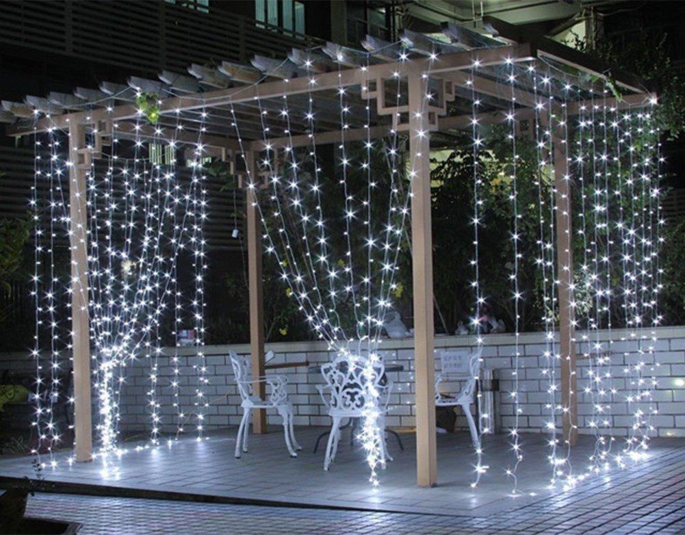 020c0968f57 cortina de luces 300 led blancas 3x3 decoracion eventos. Cargando zoom.