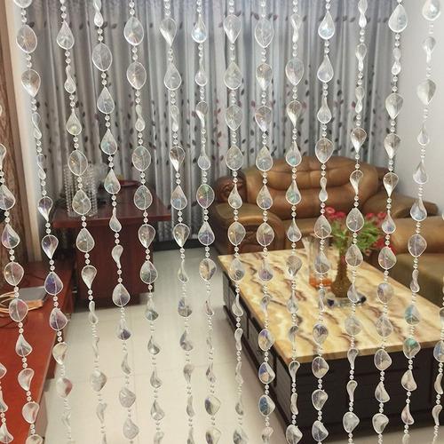 cortina de miçanga acrilica cristal twister furta cores