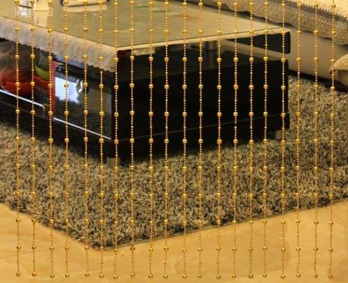 cortina de miçangas acrilicas modelo cristal