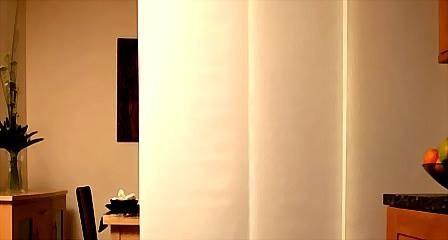 cortina de paneles orientales a medida