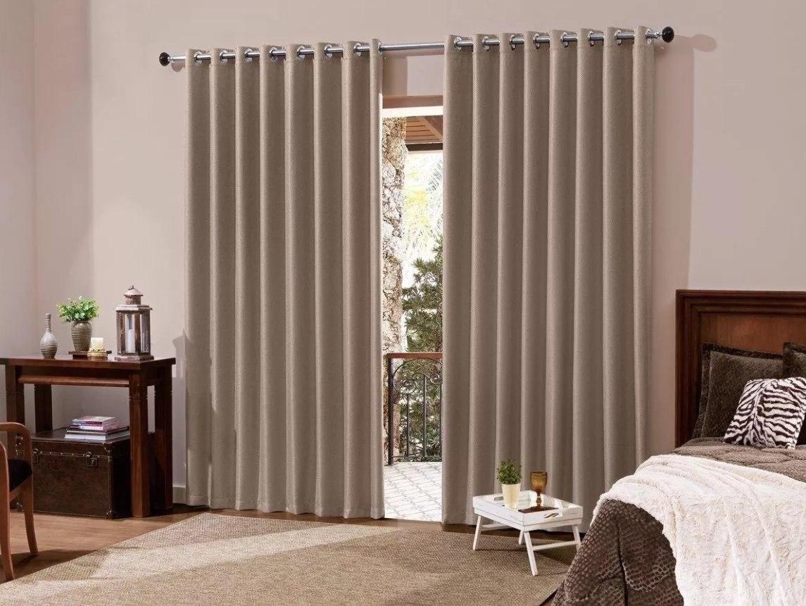 Cortina de sala ou quarto x porta ou janela for Cortinas de visillo para sala