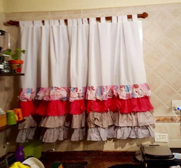 Cortina cocina cortina sencilla cortina superior cortina cocina de madera cortina de cocina - Telas cortinas cocina ...