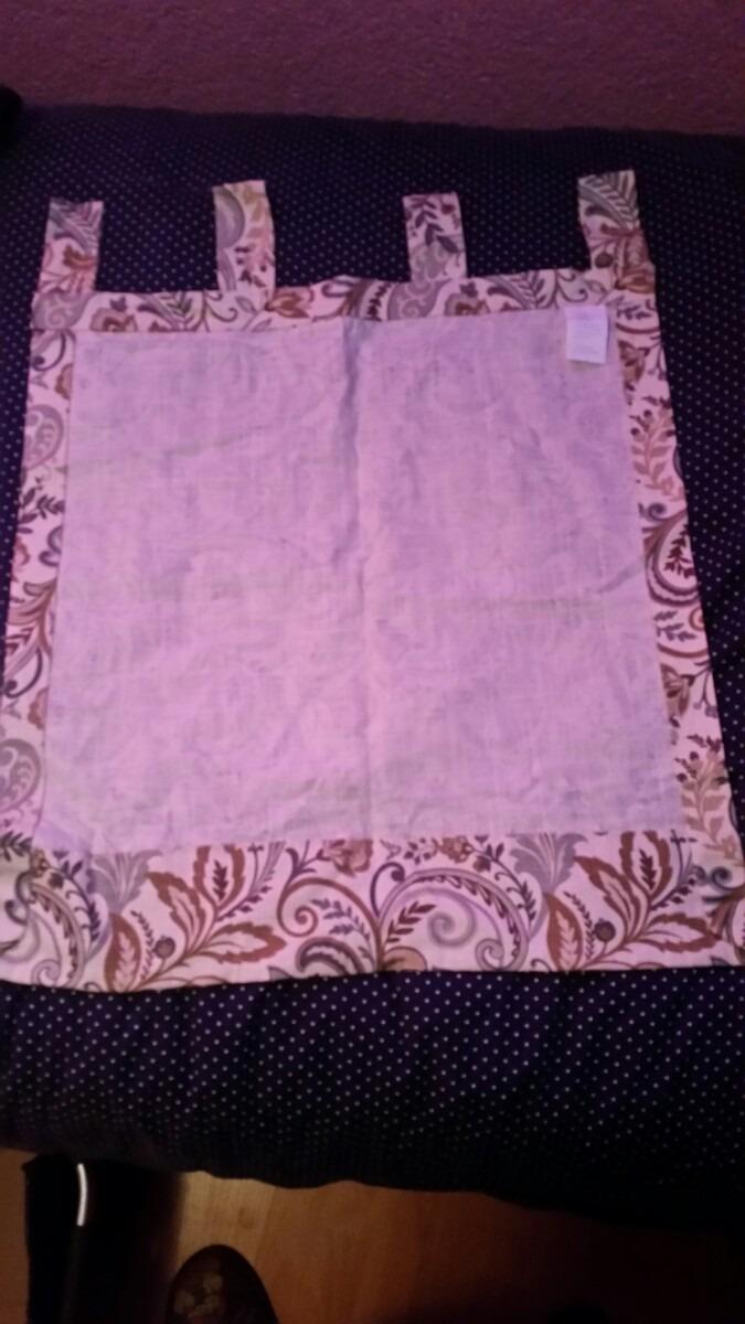 Cortina de tela para cocina en mercado libre for Cortinas de tela para cocina