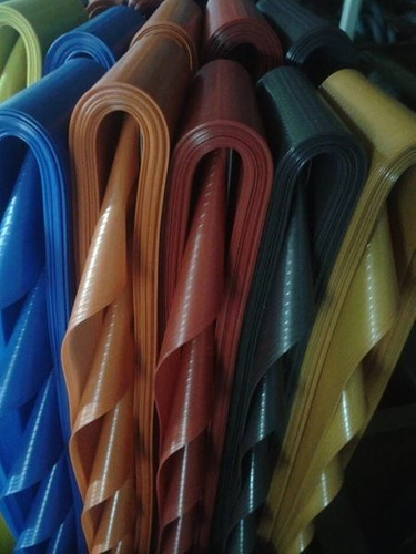 cortina de tiras con barral 90 cm de ancho x5 unidades