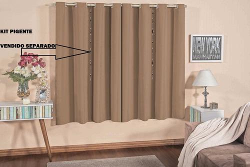 cortina  de varão para sala ou quarto 2,00m x 1,80m