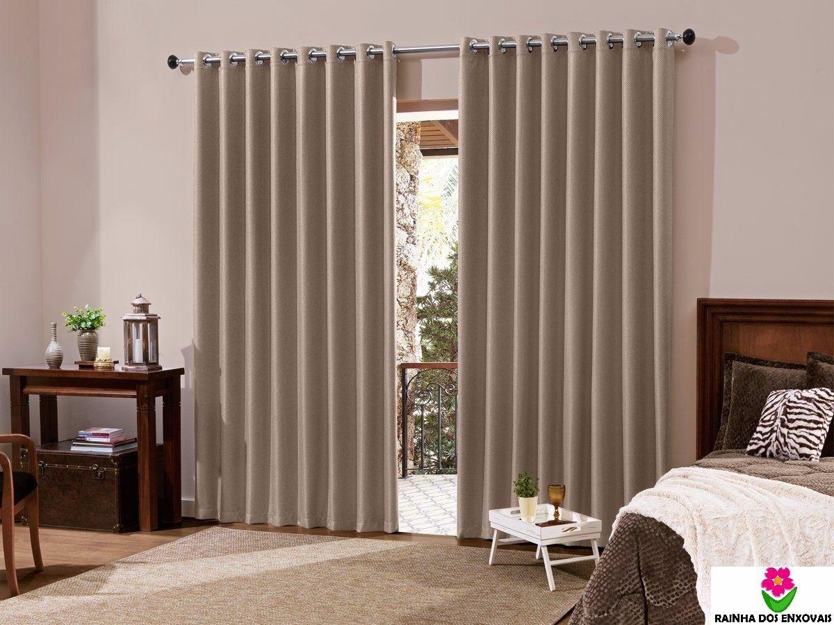Cortina de var o sala ou quarto 3 00m x 2 50m ilh s - Ver telas de cortinas ...
