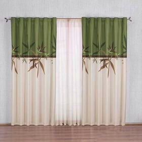 Cortina Decorativa Bambú Estandar