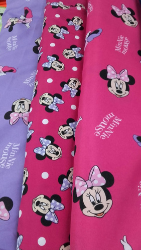 cortina disney minnie barbie cars etc colchas todo telas