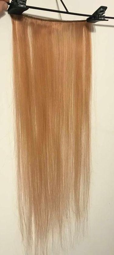 cortina doble vuelta cabello humano 20 x 60 65cm rubio miel. Cargando zoom. c5e6938a85ff