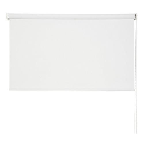cortina enrollable nueva embalada blackout blanca de 120x220