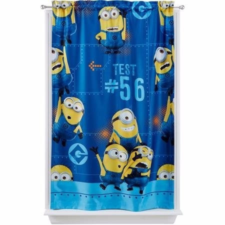 cortina individual minions importado