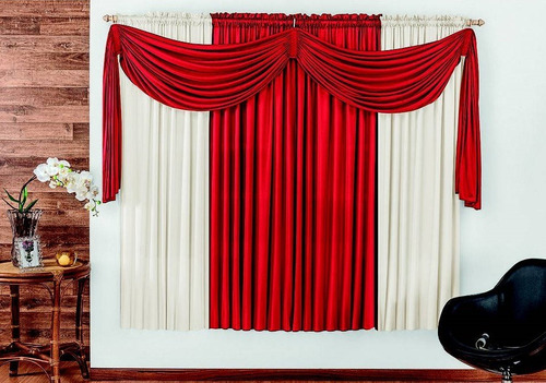 cortina iza p/ sala quarto escritório 2 metros