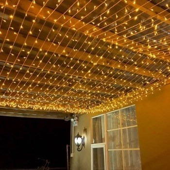 cortina led 320 luces 16 tiras 3x3 mts 220v interconectable