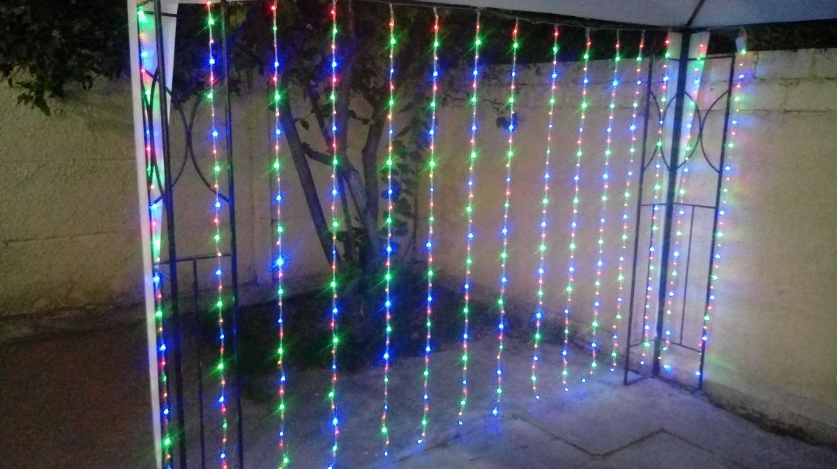 82e858dee21 cortina led 3x2 mt 480 luces multicolor navidad eventos boda. Cargando zoom.