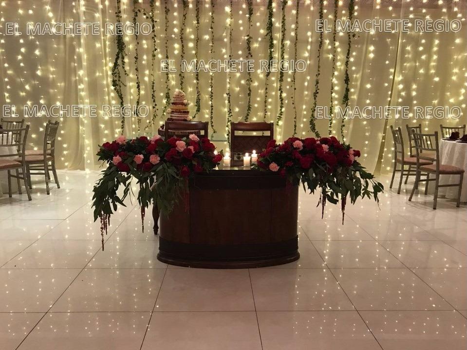 Cortina led vintage blanco calido 3x3 bodas navidad fiesta en mercado libre - Decoracion fiesta navidad ...