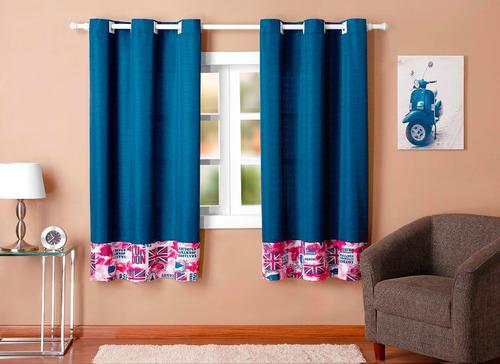 cortina london 2 metros cor marinho