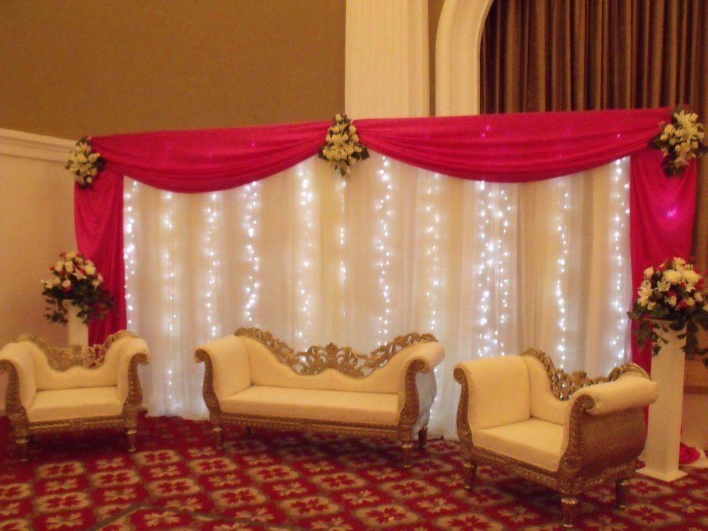 cortina luces led blancas xcm cumpleaos deco eventos