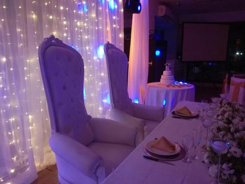 cortina luminosa led alquiler para eventos