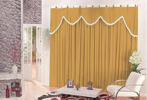 cortina madri malha varias cores 3,00x1,70 altura para varão