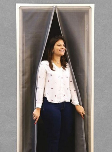 cortina magnética para portas 110 x 230 cm