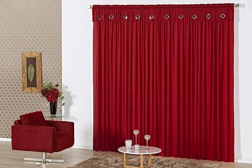 cortina malibu p/ varão varias cores 2,00m x 1,70m