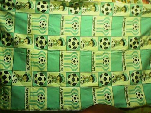 cortina mantel pareo mundial argentina 78 muy bueno