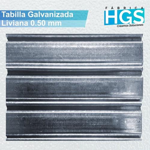 cortina metálica en oferta! de 2.70 x 2.50 chapa galvanizada