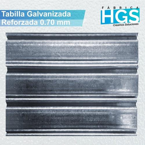 cortina metalica - maya armada por metro cuadrado