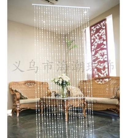 cortina miçanga disco transparente brilho furta cor decore
