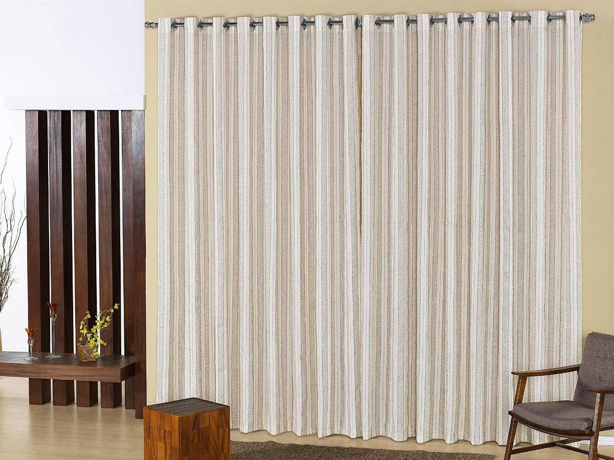 Cortina moderna sala quarto franci 4 00m x 2 80m 15587 r em mercado livre - Tende per sala moderna ...