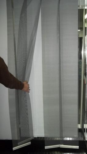 cortina mosquitero de bandas para puertas 850 x 2400 mm!