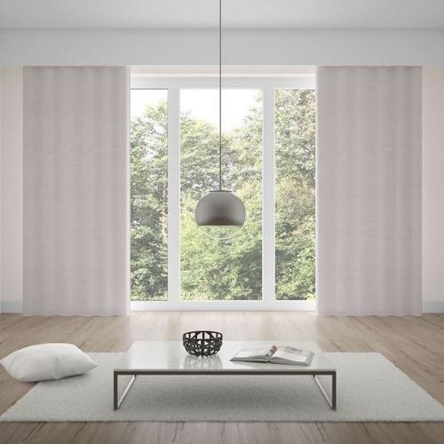 cortina oxford 2,00x1,80m para quarto e sala - cru