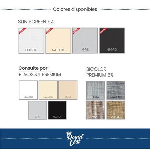 cortina paneles orientales corredizos black out screen panel