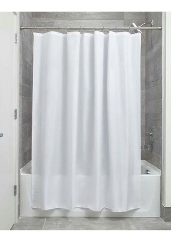 cortina para baño de tela