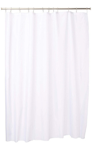 cortina para baño de tela antimoho impermeable largo 214cm