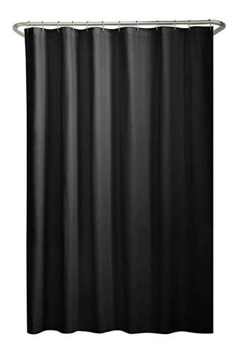 cortina para baño de tela antimoho impermeable lavable