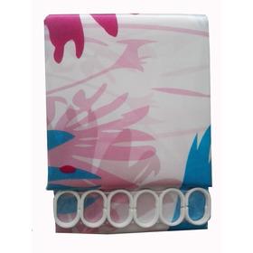 Cortina Para Baño En Polyester Estampados Varios