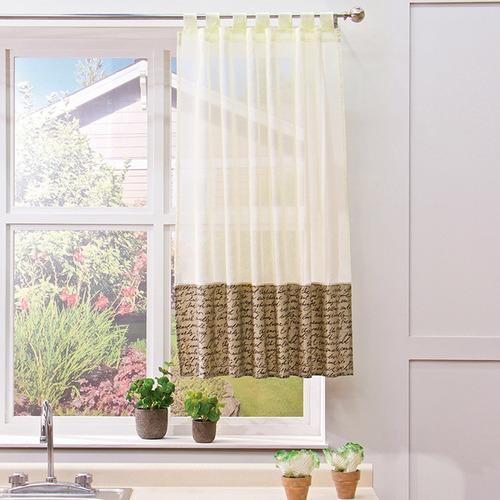 cortina para cocina valencia letras d vianney