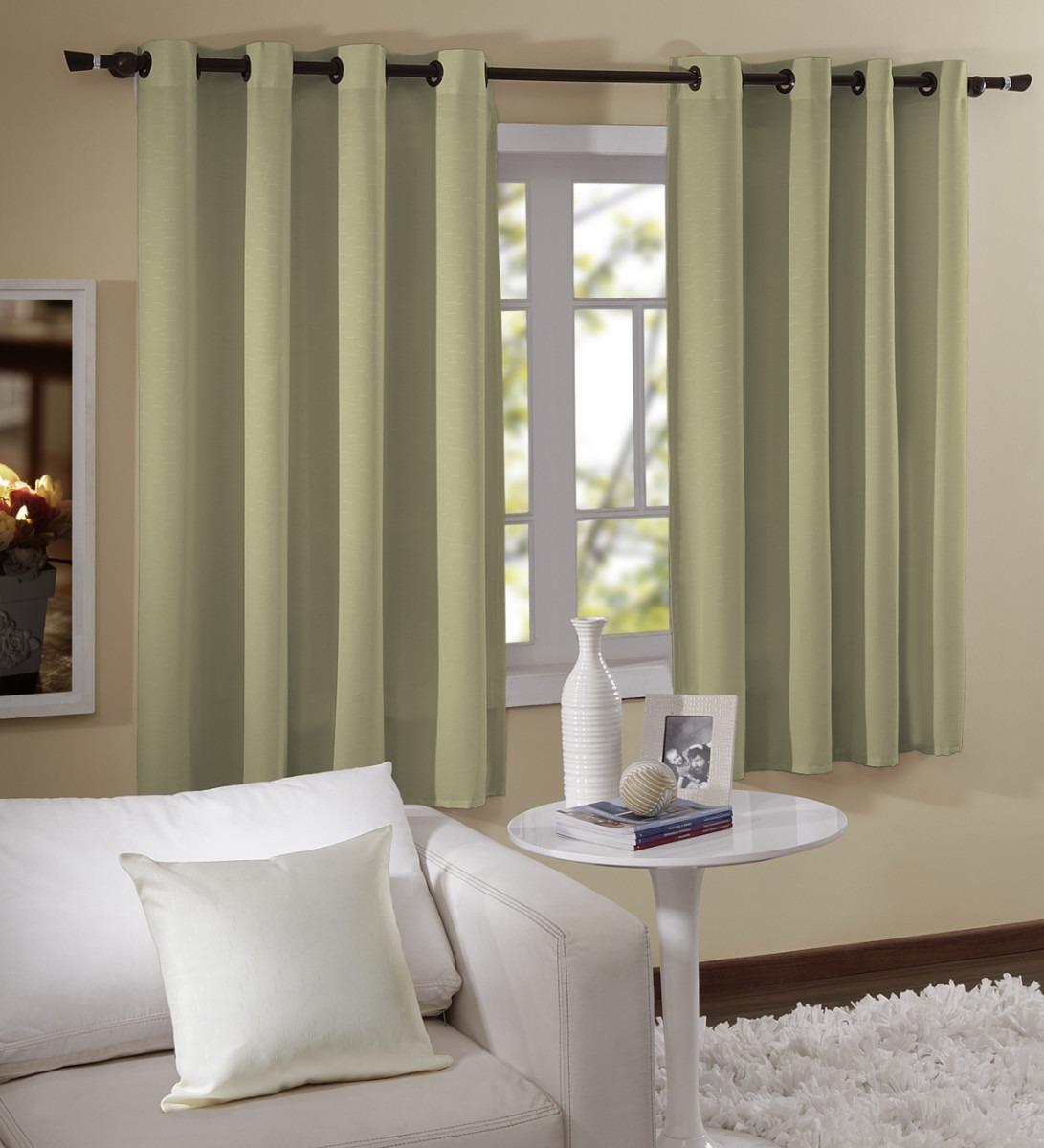 cortina para janela barcelona 1 80x2 00 melhor pre o do ml r 37 91 em mercado livre. Black Bedroom Furniture Sets. Home Design Ideas