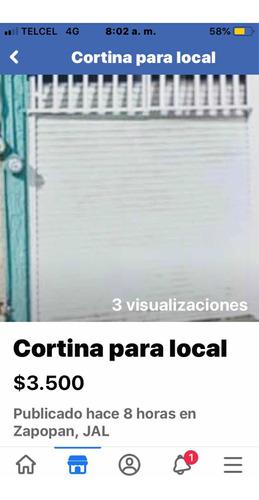 cortina para local