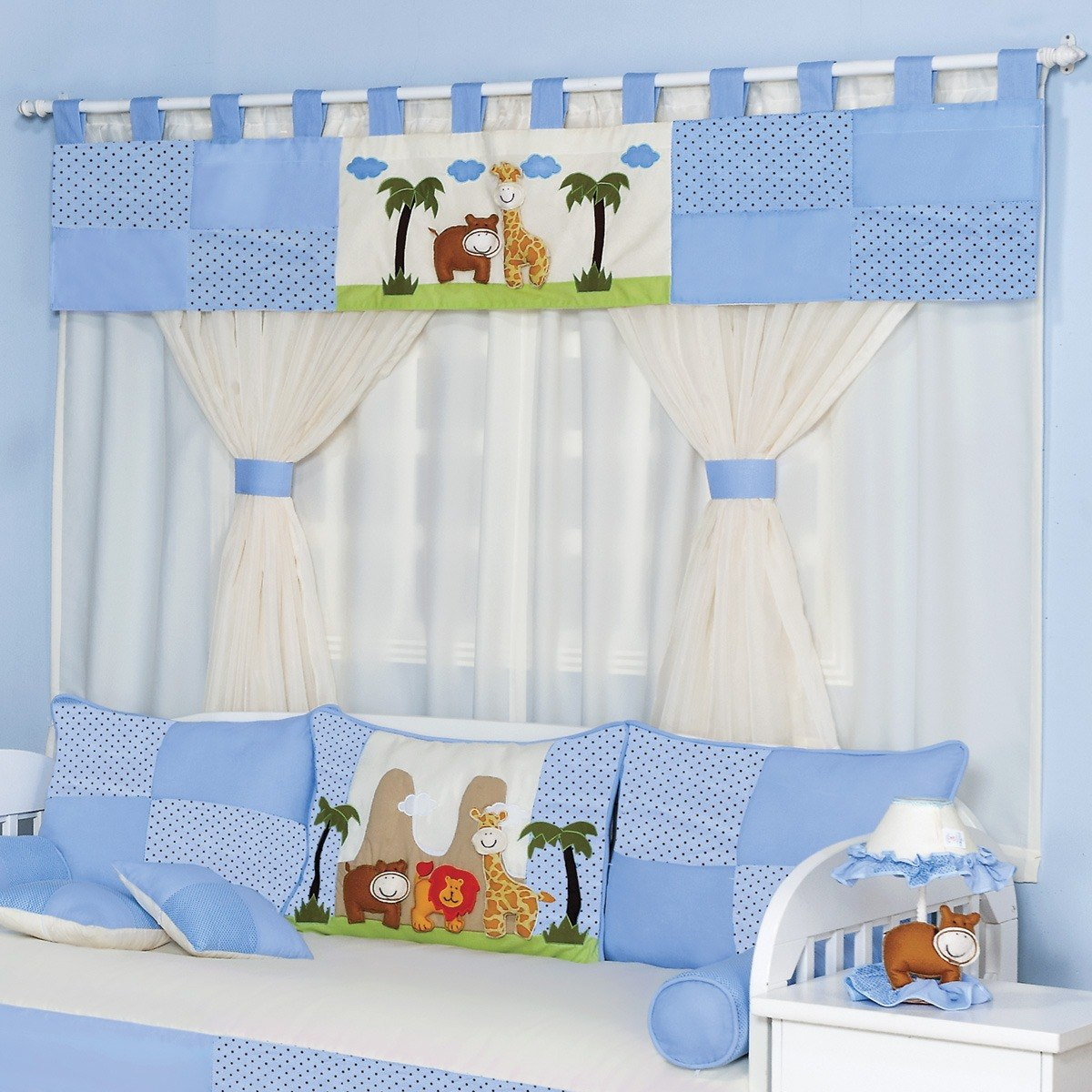 Quarto De Bebe Com Cortina Decorao Quarto De Beb Com Cortina